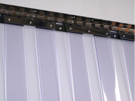 Flexible PVC Strip Curtain Doors - Hygienic Plastics Limited