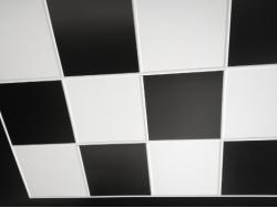 Suspended Ceiling Tiles - Easy Clean Plastic PVC Ceiling Tiles