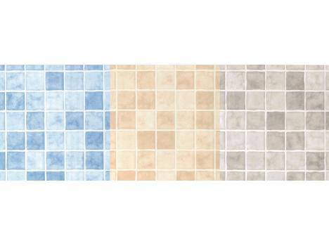 mosaic tile effect decorative wall panels - hygienic